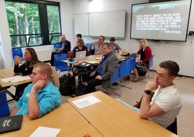 Intercultural Program - Students Listening